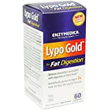 Lypo Gold, Optimizes Fat Digestion, 60 Capsules - Enzymedica