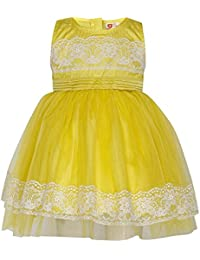 c0297ffdf043 Yellows Baby Girls  Dresses   Jumpsuits  Buy Yellows Baby Girls ...