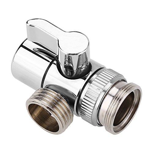 Garosa Adapter WC Bidet Sprayer Universal Duschsystem Komponente Ersatzteile Ventil für Dusche Arm montiert Schlauchadapter M24 (Wc Bidet Montiert)