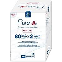 LCH Compresse Non tissée / Sterile 40 bis 10 x 10 cm M / 4 preisvergleich bei billige-tabletten.eu