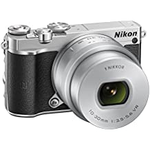 "Nikon 1 J5 - Cámara EVIL de 20.8 MP (pantalla de 3"", 10 - 30 mm, 1080p HD, SD 16 GB), color negro"