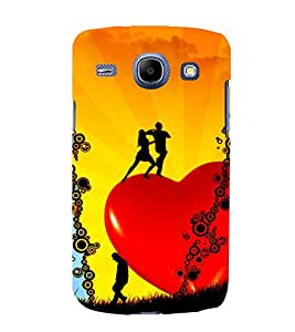 printtech Heart Couple Dance Back Case Cover for Samsung Galaxy J2 / Samsung Galaxy J2 J200F