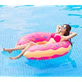 SKYTEARS Flotador Gigante Donut Hinchable para Buñuelo Piscina ...