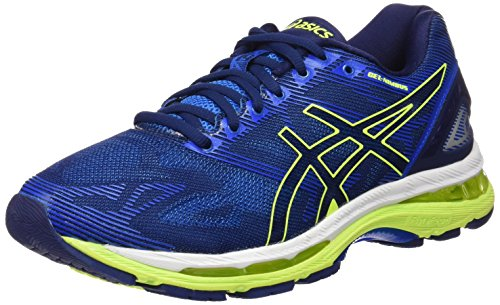 asics-gel-nimbus-19-mens-running-shoes-blue-indigo-blue-safety-yellow-electric-blue-95-uk-445-eu