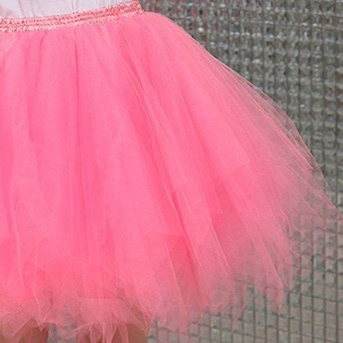 Feoya–Gonna da donna, taglia unica Pink
