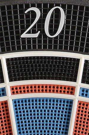 Elektronische Dartscheibe Dartona JX2000 Turnier Pro – Turnierscheibe mit 41 Spielen und über 200 Varianten - 3