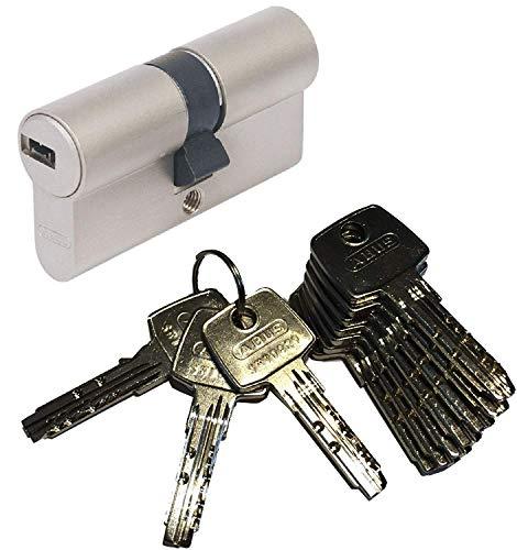 ABUS EC550 Profil-Doppelzylinder Länge 40/50mm mit 10 Schlüssel