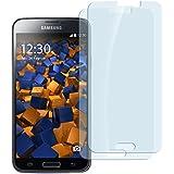 2x mumbi ECO Panzerfolie Samsung Galaxy S5 / S5 Neo Hartglas Glasfolie