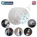 Vigilamp® LED Licht Spot mit Bewegungssensor und 8 LEDs - Original aus TV - WERBUNG