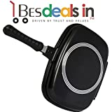 Athletic Double Sided Magic Non-Stick Pan Dishwasher Safe Frying Pan (Multi Color)