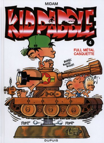 Kid Paddle, Tome 4 : Full métal casquet...