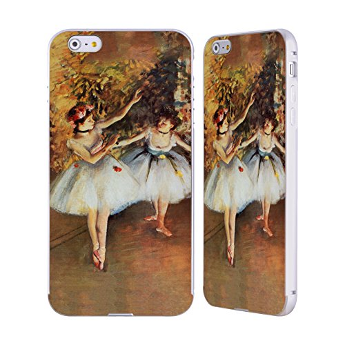 Ufficiale Masters Collection Carnation, Lily, Lily, Rose Dipinti 2 Argento Cover Contorno con Bumper in Alluminio per Apple iPhone 5 / 5s / SE Two Dancers On Stage