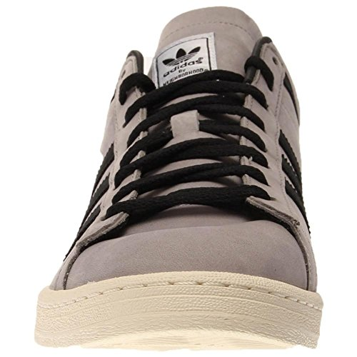 Adidas Originals X Quartier Nh Campus Mid Lumière Granite B26086 Taille 4.5 Grey / Black-White