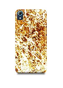 HTC Desire 826 Cover,HTC Desire 826 Case,HTC Desire 826 Back Cover,Golden Marble HTC 826 Mobile Cover By The Shopmetro-5615