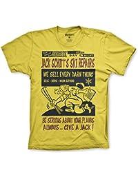 Varsity Punk Jack Schitt Ski Repair T-Shirt