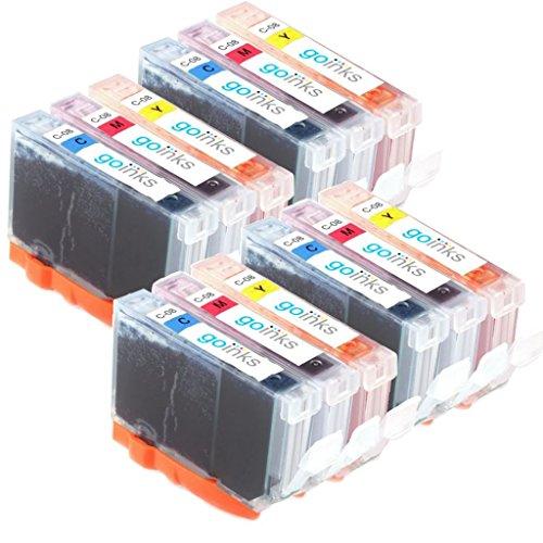 4 Go Inks C/M/Y Ensemble de 3 Cartouches d'encre � remplacer Canon CLI-8 Compatible/non-OEM pour PIXMA Imprimantes (12 Encres)