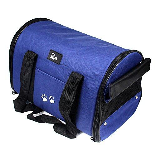 Generic Oxford Tuch pet Tragetasche für Hunde Katze Bag faltbar Pet Travel Carrier ideal für Welpen, Katzen, Kaninchen und andere kleine Tiere -