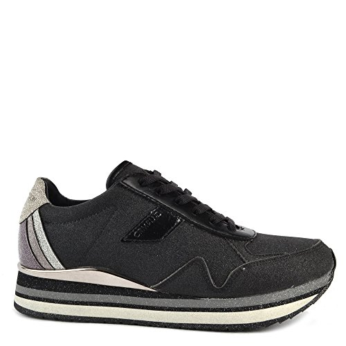Crime London Scarpe Speed Sneaker Nero Donna Nero ... 2111aa525cd