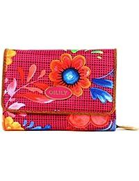 Oilily Russian Rose S - Monedero, diseño estampado, color rosa