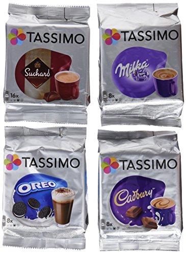 Tassimo T Discos Pods: Chocolate caliente unidades–Milka, Cadbur