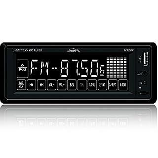 Audiocore AC9600W Autoradio mit Touchscreen 4x25W 1DIN