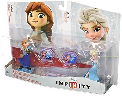 Disney Infinity - Toy Box Set: Frozen (Anna, Elsa + 2 Power Discs) de Nintendo