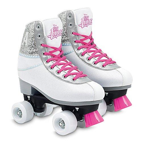 Soy Luna Ámbar patines roller training, talla 38/39 (Giochi Preziosi YLU58400)