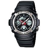 Casio G-Shock AW-590-1ADR (G219) Analog Digital Black Dial Men's Watch (AW-590-1ADR (G219))