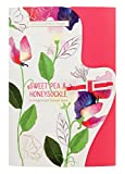 Heathcote & Ivory Sweet Pea & Honeysuckle Fragranced Drawer Liners, Paper, Multi-Colour, 0.5