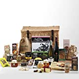 Hay Hampers The Grand Non-Perishable Hamper in Wicker Basket