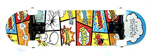 Preisvergleich Produktbild Little Boards Cartoon Complete Kinder Skateboard 7.0