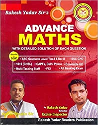 Rakesh Yadav ADVANCE MATHS(With Deatiled Solution Of Each Question)