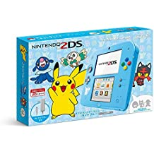 Nintendo 2DS - Pokemon Sun & Moon light blue limited edition [Brand New] import japon