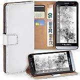 BlackBerry Z30 Hülle Weiß mit Karten-Fach [OneFlow 360°