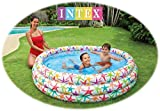 #5: NT Kid's PVC Intex Fancy Swimming Pool, 5feets (+3 Years) (56440, Multicolour)