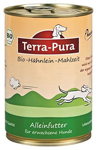 Bio hähnlein comida perros 400g lata X 12Terra