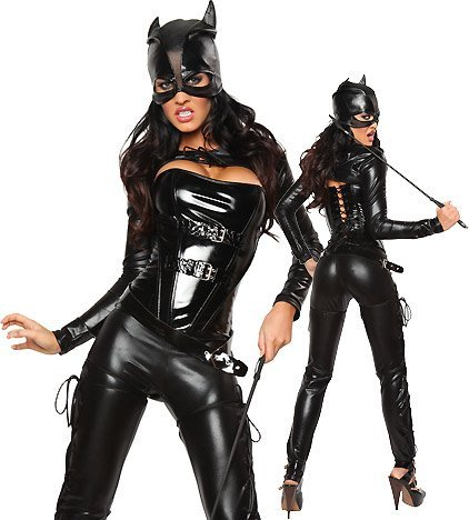 Costume da carnevale di Cat Woman di Batman, taglia: 40/42