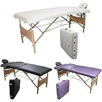 Linxor ® zusammenlegbarer Massagetisch 2 Zonen aus Holz mit Reiki Endplatte, Accessoires und Transporttasche –... preisvergleich bei billige-tabletten.eu
