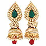 Maayra Suave Green Red Pearl Festival Jh...
