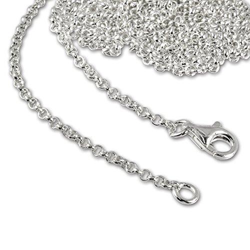 SilberDream Collana per ciondoli charm argento Sterling 925 lunghezza 90 FC00299 1