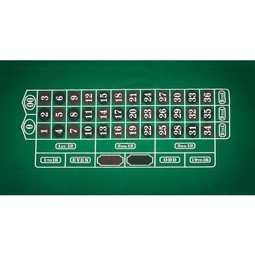 Trademark Poker Roulette Layout 91,4cm x 183cm