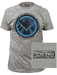 SHIELD - - Herren-Agents Of SHIELD Ausgestattet Jersey T-Shirts