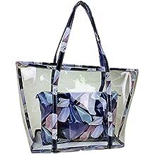 03e30481b Mengonee La bolsa de dos empaqueta el sistema de la impresión floral  muchacha de las mujeres