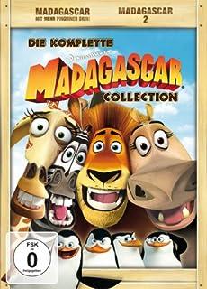 Madagascar / Madagascar 2 (4 DVDs)