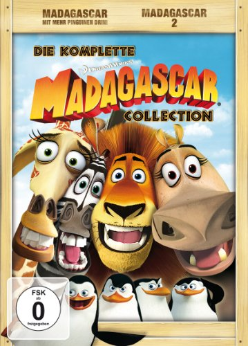 Madagascar/ Madagascar 2 Special Edition (4 DVDs)