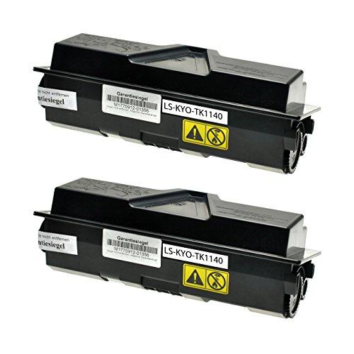 Preisvergleich Produktbild Logic-Seek Toner für Kyocera TK1140 1T02ML0NL0, je 7200 Seiten, schwarz