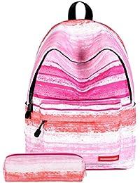 TTD Galaxy patrón niños niñas chicos escuela Mochila bolsa liviana-peso para senderismo viajes camping Escuela