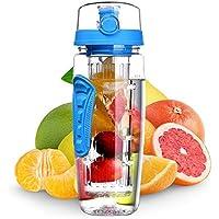 GreenRibbon 900ml/900ml Fruit-Ei Wasser Flasche bruchfestem stoßabsorbierenden ideal für Innen-Aktivitäten Office... preisvergleich bei billige-tabletten.eu