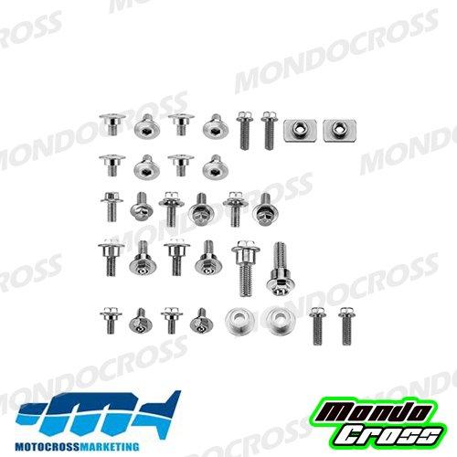 MONDOCROSS Parafango anteriore cross POLISPORT Bianco HONDA CRF 250 R 14-17 CRF 450 R 13-16