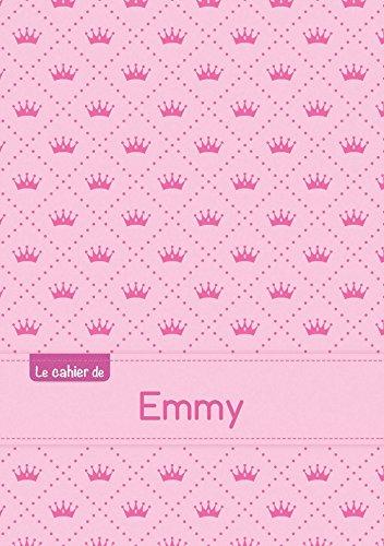 Le cahier d'Emmy - Séyès, 96p, A5 - Princesse